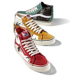 7a04c9f769 Vans Vault Sk8 Hi LX OG Palm Leaf Pack Vans Sneakers