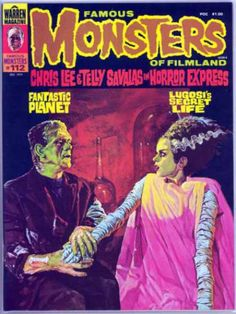 Famous Monsters of Filmland 102. The Bride. My all time favorite famous monster.