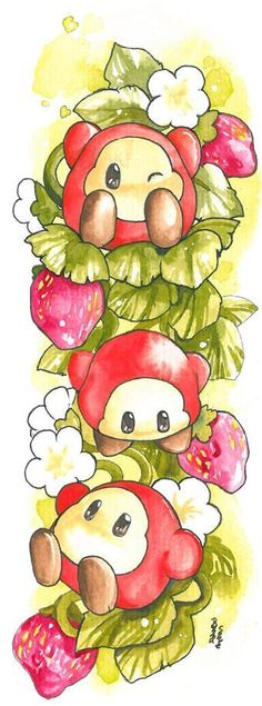strawberry time by ravenoath.deviantart.com on @DeviantArt