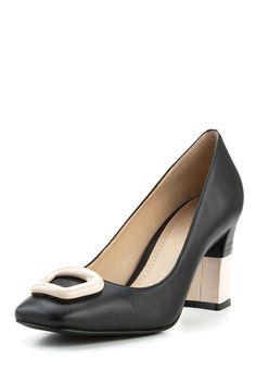 Pumps Helsa, echtes Leder, Absatz 7 cm, schwarz