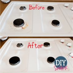 Chemical Free Stove Top Cleaner! Awesome!!!