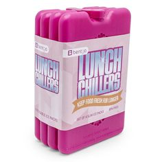 Bentgo Ice Lunch Chillers – Ultra-Thin Ice Packs Perfect for Everyday