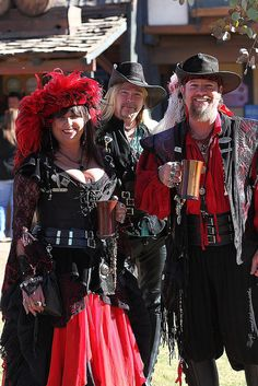 We're here to have fun!  - Renaissance festival in Arizona