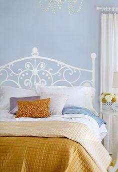 Need a headboard for that extra room? Choose one of our decal headboards for a modern look without the bulk! Available in a variety of colors, sizes and styles!