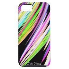 Rainbow Scibbles Personal iPhone 5 Case