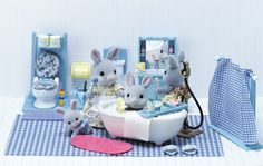 Calico Critters - Bathroom Set