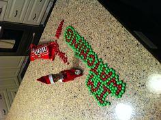 Christmas elf on the shelf!
