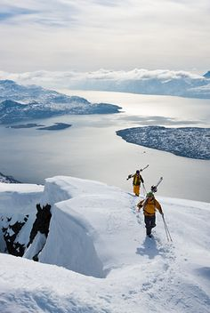 Freeski in Norway