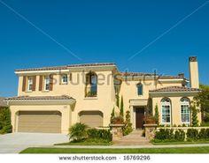 Stucco House 스톡 사진, 이미지 및 사진   Shutterstock