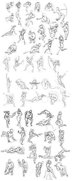 Figure Drawing 013 by Andantonius on deviantART via PinCG.com                                                                                                                                                                                 More