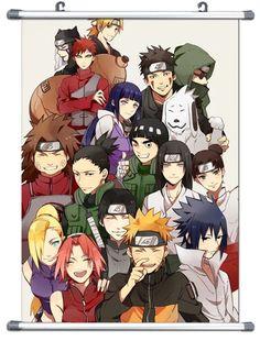"B768 Anime Naruto Wall Scroll Cosplay 10""X14"""