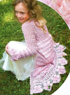 Double Layer Hooded Baby Jacket By Esther Huhn - Free Crochet Pattern ...