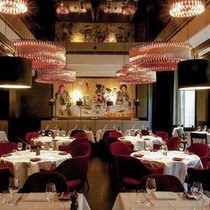 Interieur des Restaurant Le Faubourg im Hotel Sofitel | www.cremeguides.com