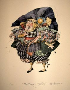 The French Clown by James C. Christensen