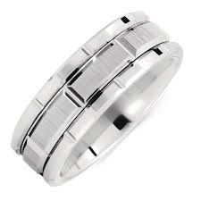 Image result for silver tungsten rings
