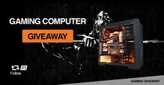 Help me win this epic gaming PC. #giveaway