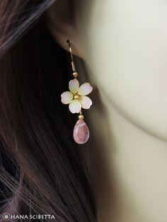Cherry Blossom Earrings - Hana Scibetta