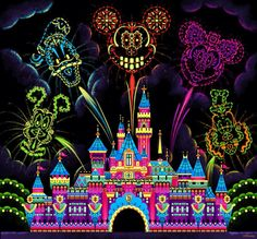 Day of the Dead Disney style