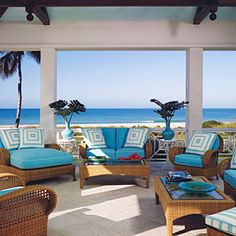 10 Interior Designer that are making waves in fabulous seaside style.  #coastal #interiors