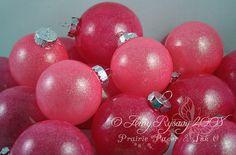 pink christmas decor - Google Search
