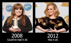 Damn, Adele looks so good now!