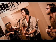 The Head and the Heart performs Lost In My Mind.  Live in the KEXP studio in Seattle, Washington on July 17, 2010.