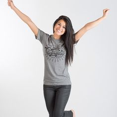 Well someone's looking rather victorious this morning! | |  We see you @mccartneypayton, looking fabulous as ever . | |  #WearThePromise #GoodMorning #Jesus #Joy #weekend #summer #strongwoman #apparel #christian #christianapparel #wearyourfaith #happy #instagood #KC #reppinkc #OOTD #POTD #victory #love