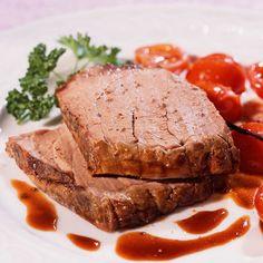 Découvrez la recette du rôti de veau au miel