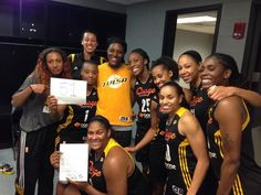 Riquna Williams of the Tulsa Shock breaks WNBA record by scoring 51 points in a single game.  Tulsa vs San Antonio 9/8/13.   Yay Bay Bay!!!