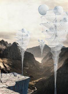 Dandelion Vessel: Inflatable Skyscraper For Natural Disasters - eVolo | Architecture Magazine