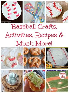 Grab your peanuts and cracker jacks and have fun with these baseball activities crafts recipes and much more. Take me out to the ball game. Super fun kid activities.