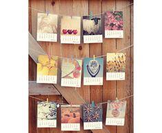 ready to ship 2012 desk calendar no base / original by shannonpix, $24.00