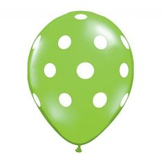 Don't just settle for solid-colored balloons - look for patterns, either in your local store or online.