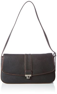 Tamaris DIKI Baguette Bag 1336152-001 Damen Baguettes 27x15x7 cm (B x H x T), Schwarz (black 001)