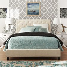 Katrita Upholstered Panel Bed