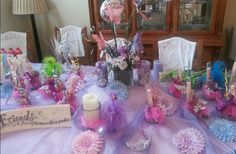 Little girls spa party