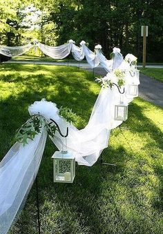 To decor a fantastic outdoor wedding ceremony, I've put together 35 my favorit. To decor a fantastic outdoor wedding ceremony, I've put together 35 my favorite outdoor wedding ideas and hope these wil. Fall Wedding, Diy Wedding, Wedding Events, Wedding Ceremony, Rustic Wedding, Dream Wedding, Wedding Backyard, Wedding Beach, Trendy Wedding