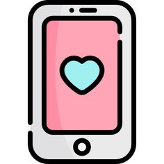 Phone free vector icons designed by Freepik Cute Easy Drawings, Mini Drawings, Cute Little Drawings, Cute Kawaii Drawings, Wallpaper Iphone Cute, Cute Wallpapers, Halloween Doodle, Iphone Icon, Instagram Highlight Icons