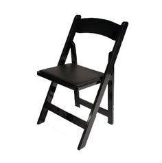 Black-Folding-Chair for extra seating