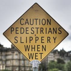 What is going on with the pedestrians that they are so wet??? Ahhhh hell......NEVER MIND!