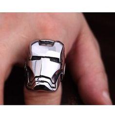 Iron Man Titanium Stainless Steel Ring $28.90