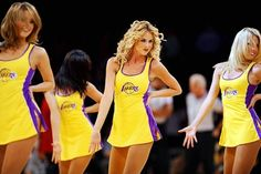 NBA Los Angeles Lakers Kobe Bryant is the new Ambassador for Hublot Cheerleading, Nba Cheerleaders, Wave Dance, Lakers Girls, Baskets, Lakers Kobe Bryant, Cheerleader Costume, Nba Los Angeles, Shaquille O'neal