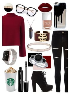 """""""Winter Style"""" by ekjohnson1216 on Polyvore featuring Proenza Schouler, River Island, Lime Crime, Nails Inc., Cartier and Marc Jacobs"""