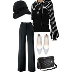 """stripes"" by gamer-chic on Polyvore"