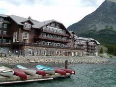 many glaciers hotel glacier national park - Google Search