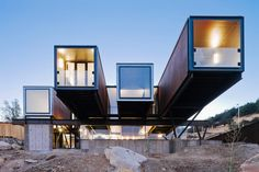 20 Cool As Hell Shipping Container Homes - Caterpillar House...