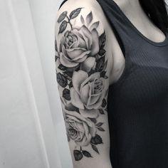 nice Top 100 floral tattoos - http://4develop.com.ua/top-100-floral-tattoos/ Check more at http://4develop.com.ua/top-100-floral-tattoos/