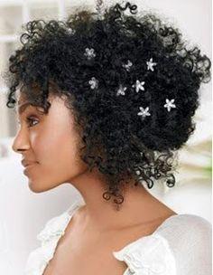 O Blog da Noiva Negra: penteados