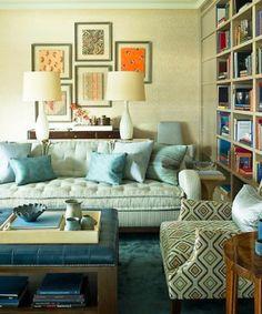 Regency Redux style sitting room by designer Steven Grambell