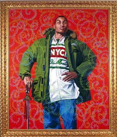 Kehinde Wiley Paintings   The Art Theoretical: Painting by Kehinde Wiley